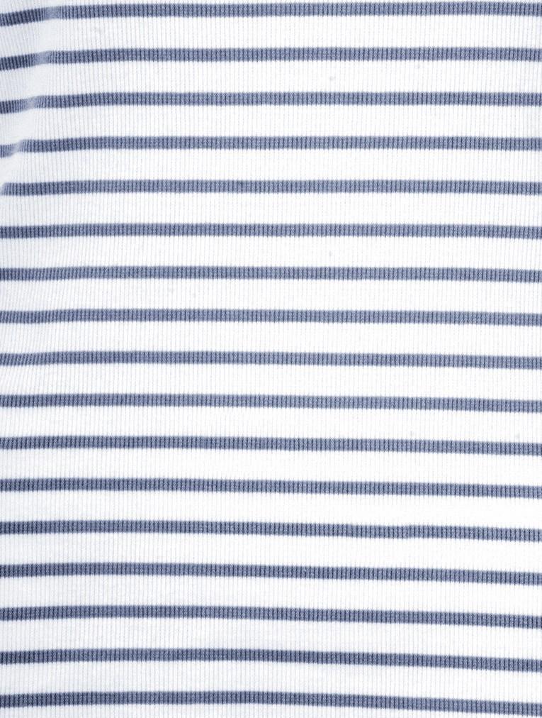 Striped Cotton Rib Vest Top main image