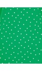 Sandwich Clothing Jolly Green Cross Back Dotted Vest Top