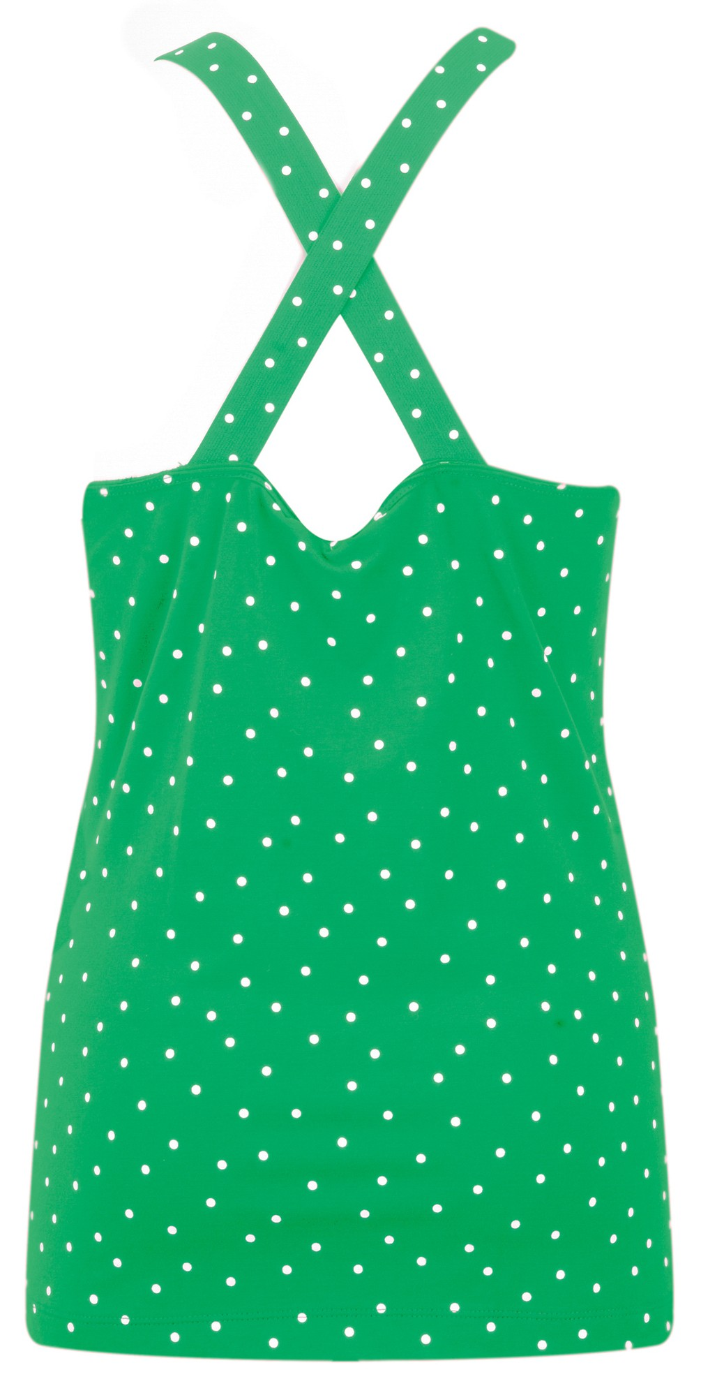 Cross Back Dotted Vest Top main image