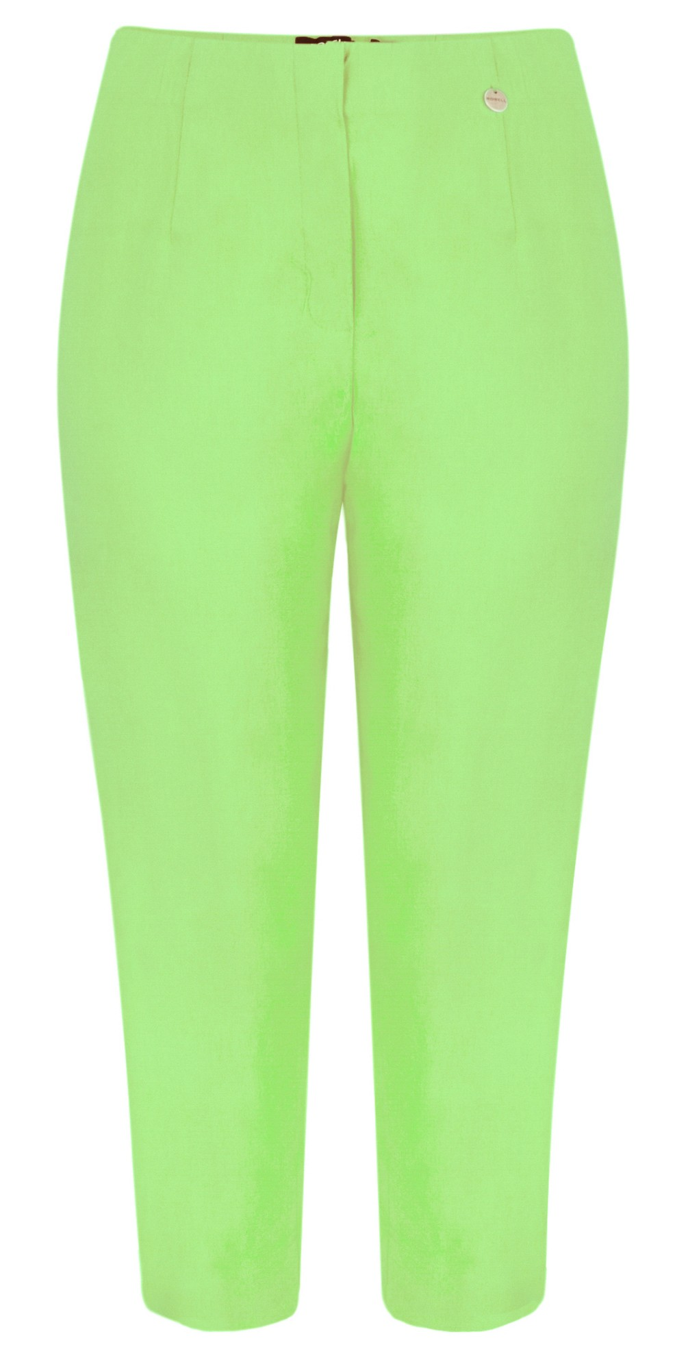 Marie 07 Lime Cropped Trouser main image
