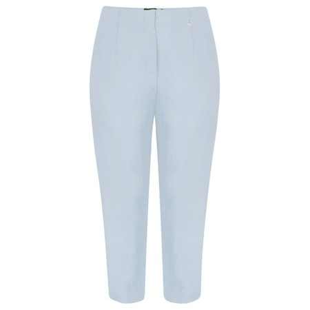 Robell  Marie 07 Cropped Trouser - Blue