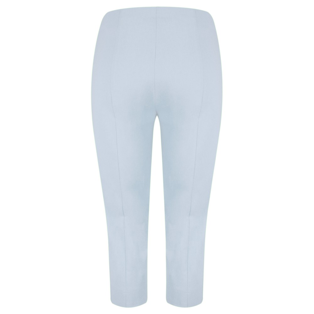 Robell Marie 07 Light Blue Cropped Trouser Light Blue 160 / 611