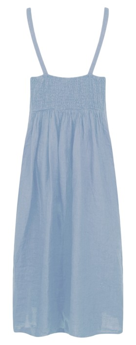TOC  Cammie Linen Easy Fit Dress  Denim