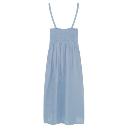 TOC  Cammie Linen Easy Fit Dress  - Blue