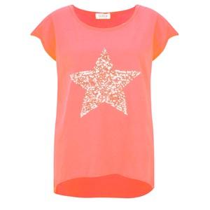 Luella Star Sequin T-Shirt