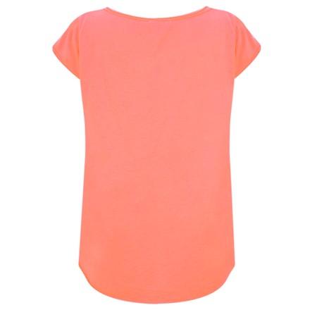 Luella Star Sequin T-Shirt - Orange