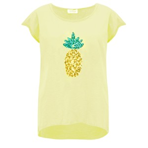 Luella Pineapple Sequin T-Shirt