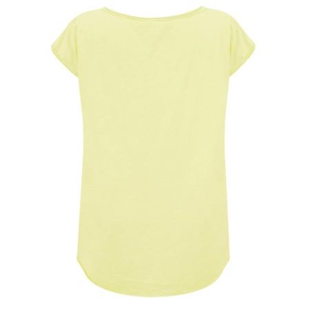Luella Pineapple Sequin T-Shirt - Yellow