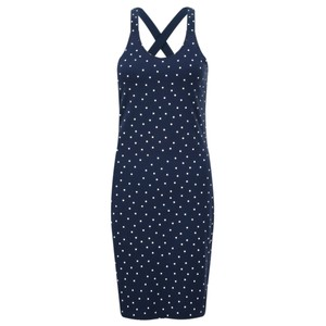 Sandwich Clothing Cross Back Dotted Long Vest Top