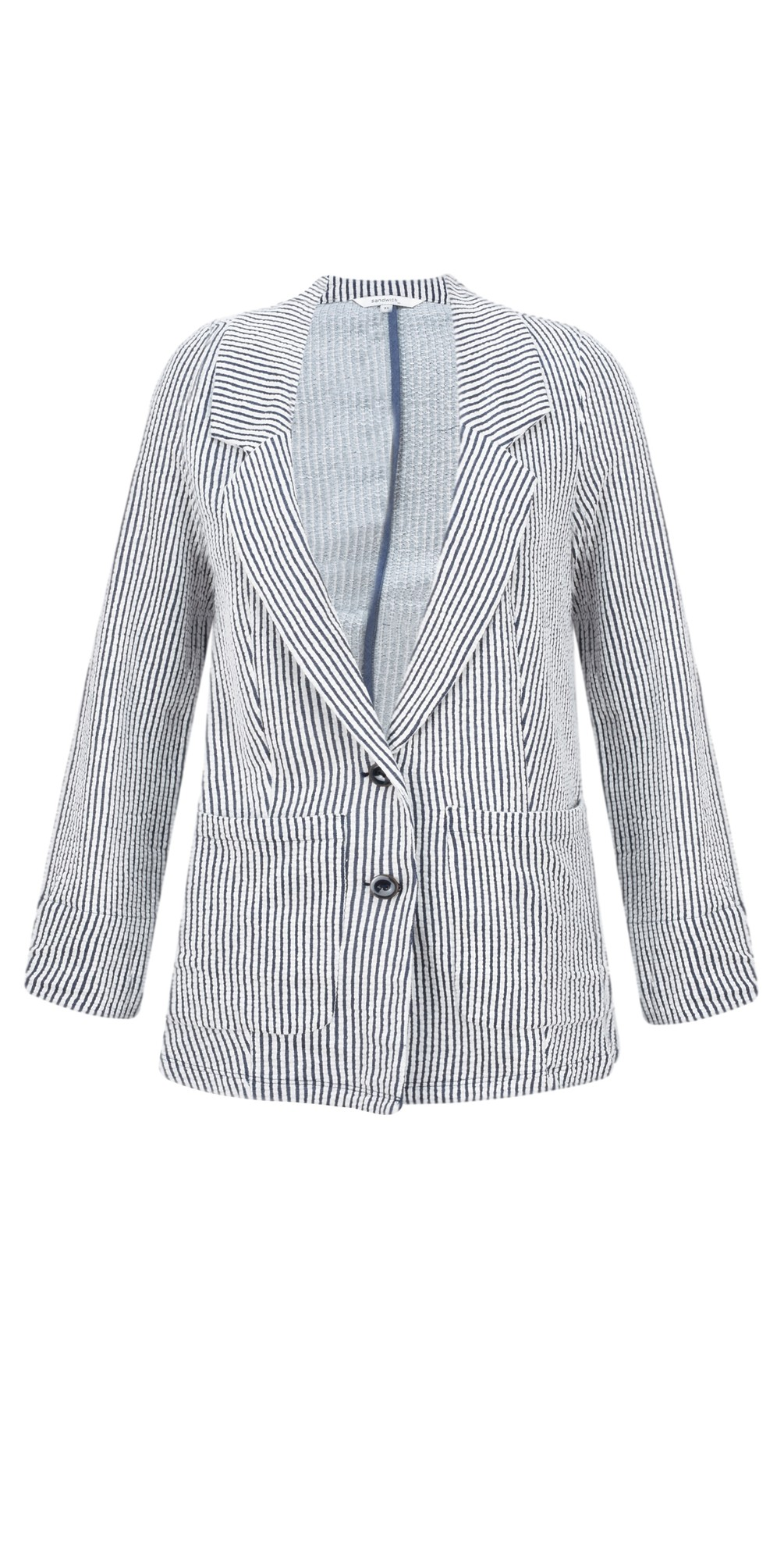 Seersucker Stripe Jacket main image