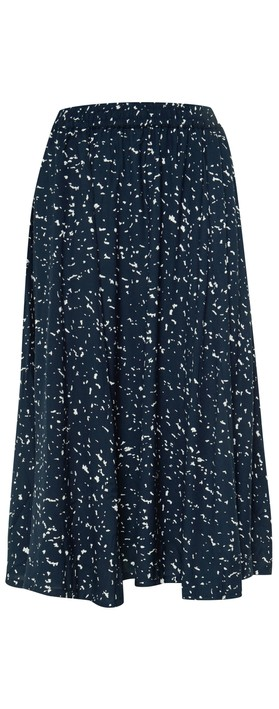 ICHI Jenni Skirt Total Eclipse