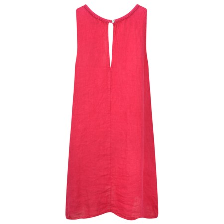 TOC  Carly Linen Dress - Pink