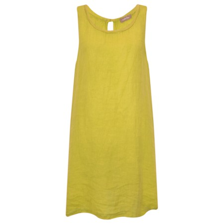 TOC  Carly Linen Dress - Yellow