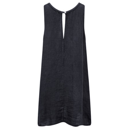 TOC  Carly Linen Dress - Blue