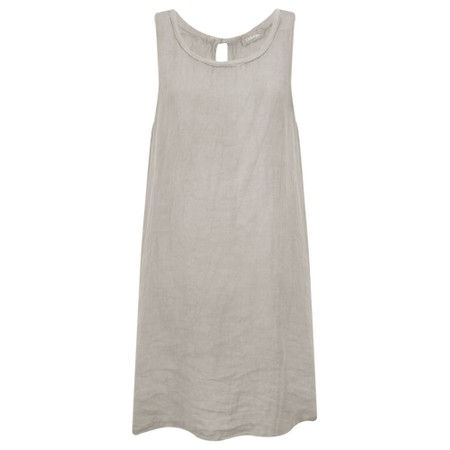 TOC  Carly Linen Dress - Grey