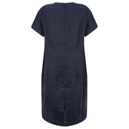 Masai Clothing Nabla Linen Dress  - Blue