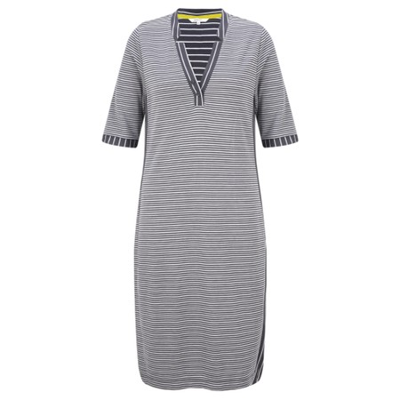 Sandwich Clothing Fitted Striped Dress - Grey