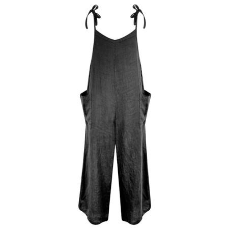 TOC  Danica Linen Jumpsuit - Black
