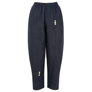 TOC  Pia 7/8 Easyfit Linen Trousers