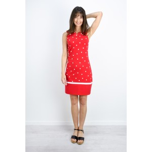 Sandwich Clothing Dot Print Fitted Dress