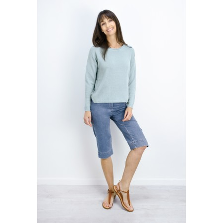 Sandwich Clothing Basic Cotton Jumper - Blue