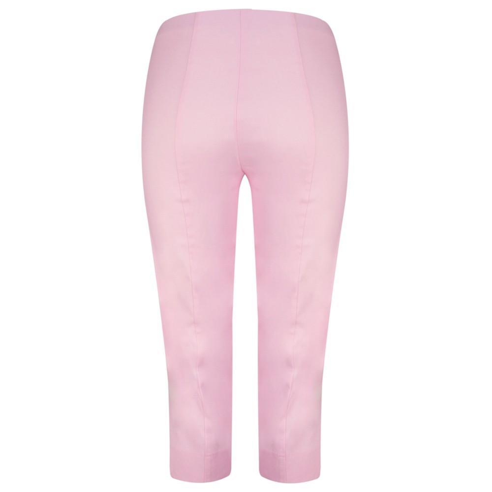 Robell Marie 07 Light Pink Cropped Trouser Light Pink 410