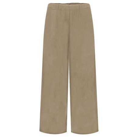 Mama B Pampa Izmir Plain Trouser - Green