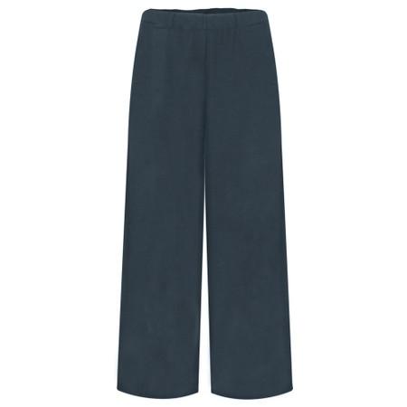 Mama B Pampa Izmir Plain Trouser - Blue