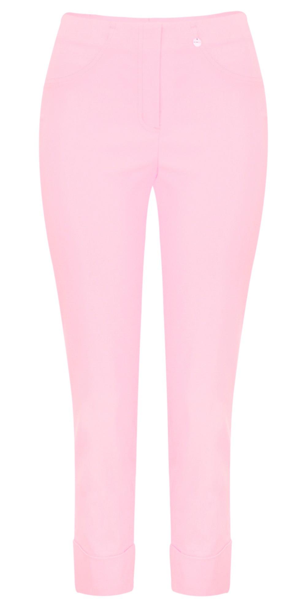 Bella 09 Sorbet Rose Ankle Length Crop Cuff Trouser main image