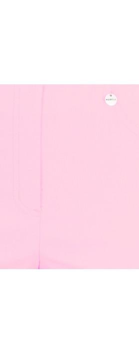 Robell Bella 09 Sorbet Rose Ankle Length Crop Cuff Trouser Sorbet Rose 241