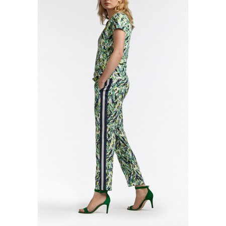 Sandwich Clothing Abstract Print Trousers - Green