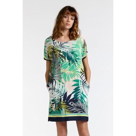 7a8cd4b841abfd Sandwich Clothing Palm Leaf Jungle Dress - Green