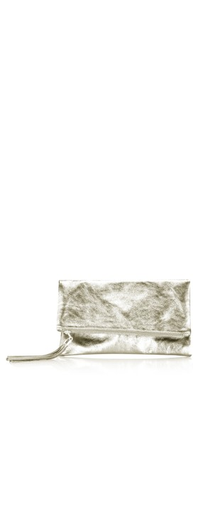 Gemini Label Bags Silvi Clutch Bag Gold