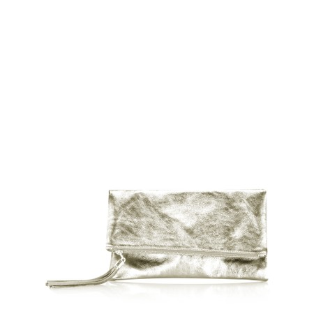 Gemini Label  Silvi Clutch Bag - Gold