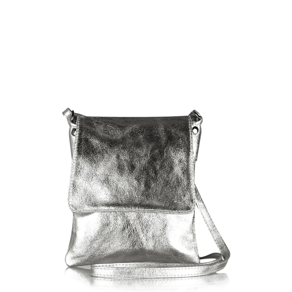Gemini Label Bags Paige Cross Body Bag Pewter