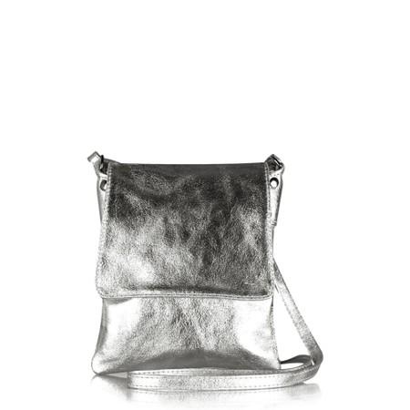 Gemini Label  Priero Cross Body Bag - Metallic