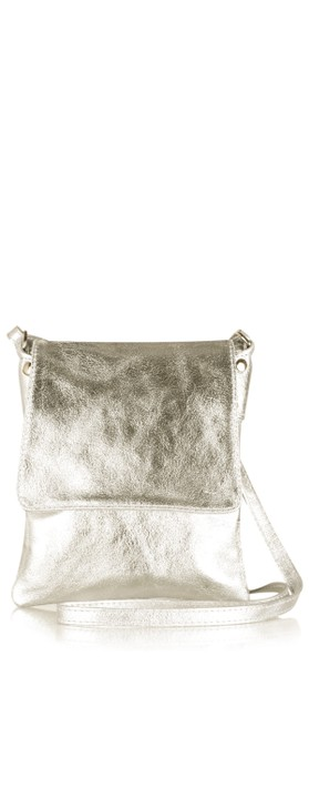 Gemini Label Bags Paige Cross Body Bag Bronze