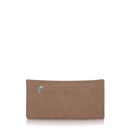 Gemini Label  Silvi Clutch Bag - Brown