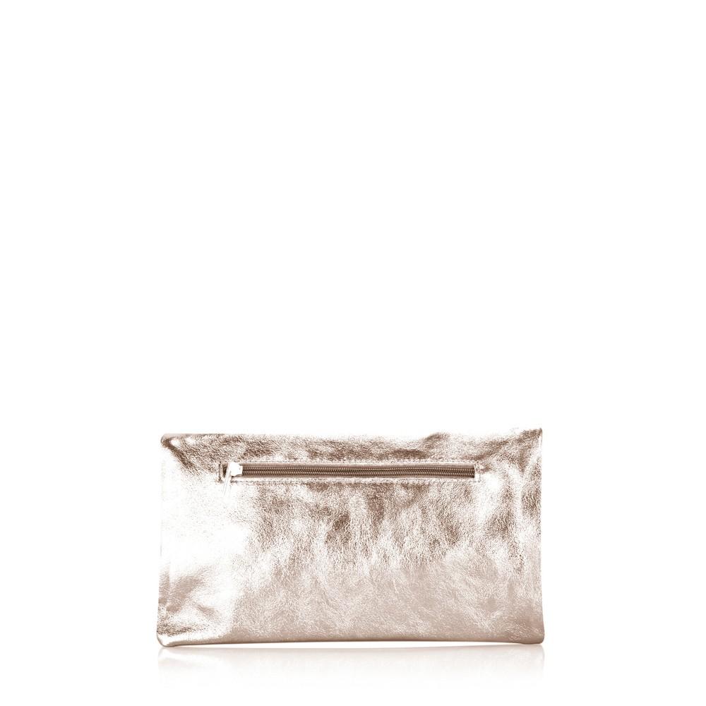 Gemini Label Bags Silvi Clutch Bag Rose Gold