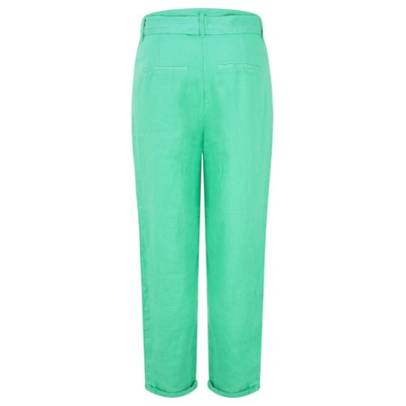 Sandwich Clothing Cropped Linen Trousers - Green