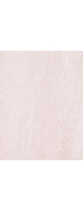 Fenella  Angie Boxy Linen Top Washed Rose F04