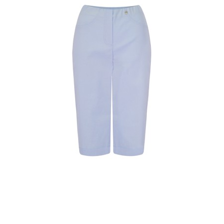 Robell  Bella 05 Slimfit Short - Blue