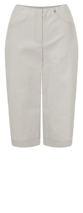 Robell Trousers Bella 05 Slimfit Short Light Taupe 13