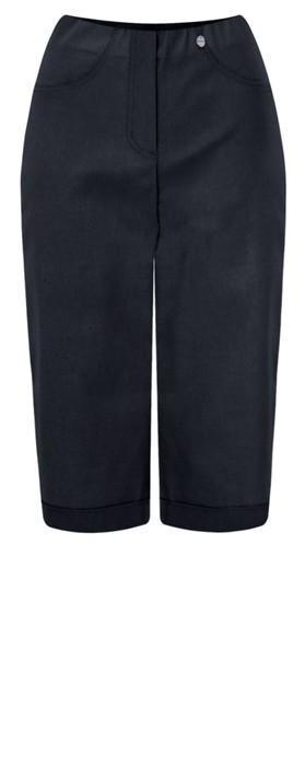 Robell Trousers Bella 05 Slimfit Short Navy 69