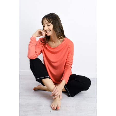 Sundae Tee Tila Long Sleeve Top - Orange