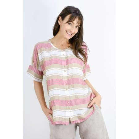 Masai Clothing Iesha Blouse - Pink