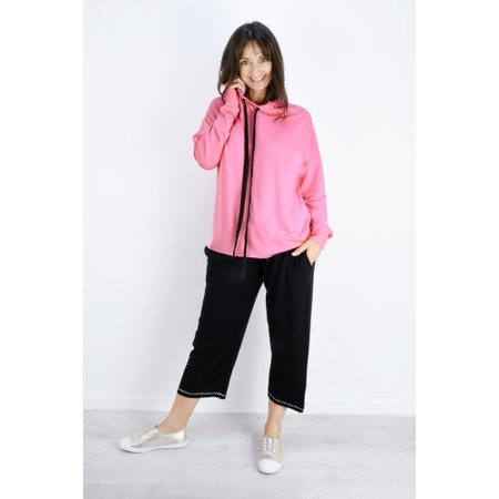 Sundae Tee Kelis Hooded Lounge Top - Pink