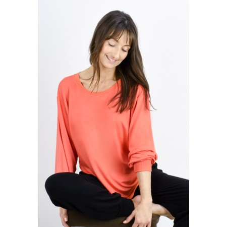 Sundae Tee Mila Long Sleeve Top - Orange