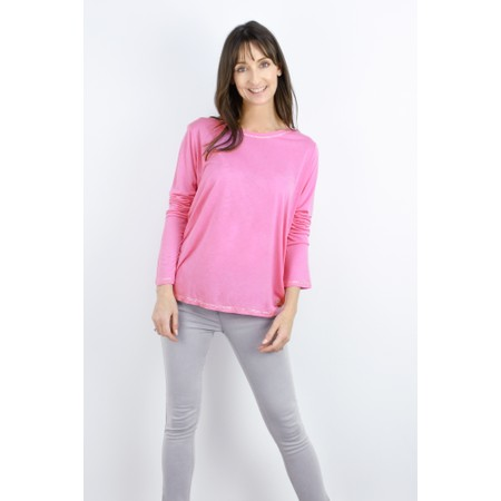 Sundae Tee Tila Long Sleeve Top - Pink
