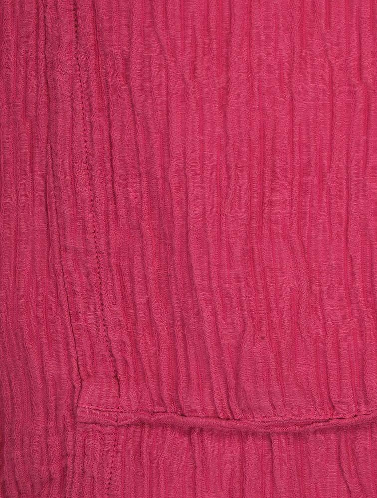Jolanta Solid Crinkle Linen Top main image